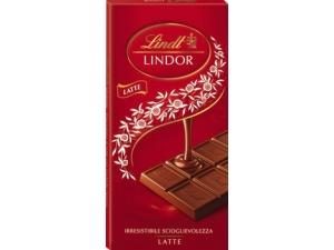 Lindt lindor  • latte • fondente 60% • extra fondente 70% • cacao • pistacchio GR 100