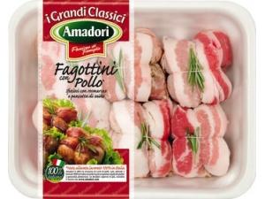 Amadori fagottini di pollo formato maxi al kg