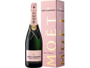 MOET & CHANDON champagne rosé imperial astucciato cl 75