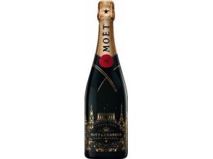 Moet & chandon festive bottle End of Year   edizione limitata cl 75