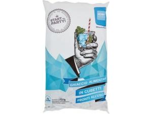 Ice cube  ghiaccio alimentare a cubetti  kg 2,5