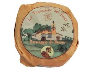 L'antica cascina  la tentazione del frate formaggio di pecora al kg