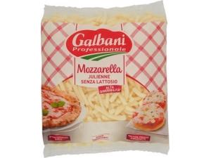 Galbani mozzarella alla julienne senza lattosio kg 1,5