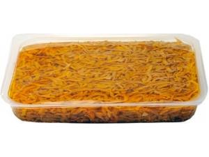 Le delizie melanzane a filetti in olio al kg