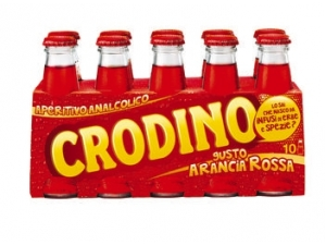 Crodino • classico • arancia rossa cl 10 x 10
