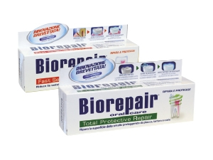 Biorepair  dentifricio • fast sensitive repair • total protective repair ml 75