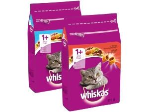 Whiskas  croccantini per gatto  vari gusti gr 350