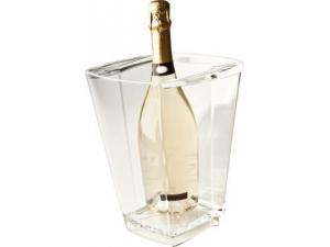 Polo plast secchiello porta bottiglie pmma trasparente