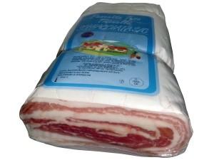 Pianellese  pancetta schiacciata metà sottovuoto al kg