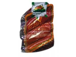 Bernardini  salsiccia di cinghiale gr 150 sottovuoto al kg
