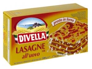 Divella lasagne all'uovo gr 500