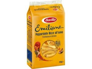 Barilla emiliane  nidi all'uovo gr 250 • fettuccine • fettuccine ricce • pappardelle • pappardelle ricce • tagliatelle • tagliatelle larghe • taglierini • tagliolini