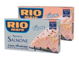 Rio mare  filetto di salmone  • al naturale • all'olio extra vergine di oliva • gusto affumicato gr 125
