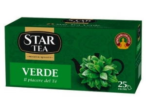 Star tea  tè verde 25 filtri