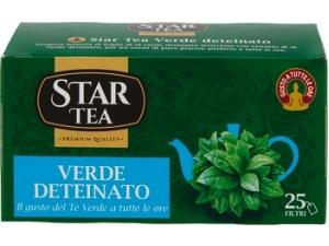 Star tea TE' VERDE DETEINATO  25 FILTRI