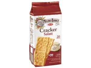 Mulino bianco cracker • salati • ridotto contenuto di sale gr 500