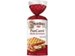 Mulino bianco  pan carrè  16 fette  gr 285