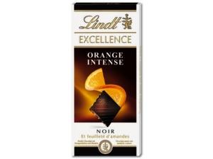 Lindt excellence  tavoletta di cioccolato • 70% • orange intense • peperoncino • pera • fico • limone e zenzero gr 100