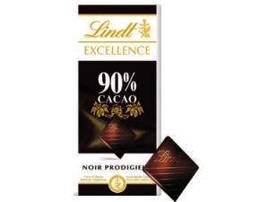 Lindt excellence  tavoletta di cioccolato  • 90% cacao gr 100 • 99% cacao gr 50 • passion arancia e mandorle • passion caramello e sale gr 100