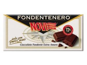NOVI tavoletta di cioccolato • le specialità vari tipi gr 100 • fondente nero ripieno gr 105