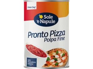 'o sole 'e napule  pronto pizza  polpa di pomodoro kg 4,05