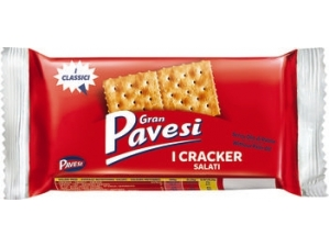 Gran pavesi cracker salati pacco singolo gr 31,25