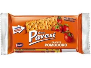 Gran pavesi  cracker pomodoro e formaggio pacco singolo gr 35
