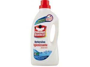 Omino bianco detersivo liquido per lavatrice  vari tipi 23 + 3 lavaggi