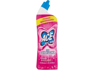 Ace   wc gel • con candeggina • disincrostante ml 700