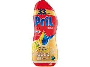 Pril lavastoviglie  gold gel  • classico • aceto • limone ml 600