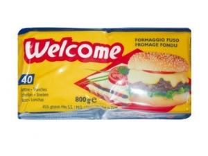 Welcome  40 fettine di formaggio fuso gr 800