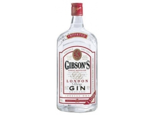 Gibson's london dry gin lt 1