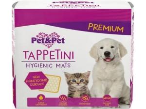 PET&PET tappetini per animali cm 60 x 60 - pz 10