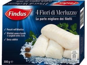 Findus 4 fiori di merluzzo gr 300