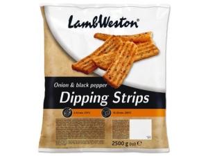 Lambweston  dipping strips  pepe nero e cipolla kg 2,5
