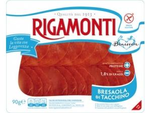 Rigamonti  bresaola di tacchino affettata  gr 90