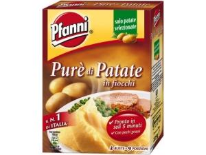 Pfanni purè  di patate in fiocchi   3 buste gr 225