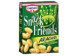 Cameo snack friends arachidi tostate e salate sottovuoto  gr 40