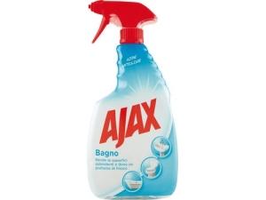 Ajax spray  • bagno  • SGRASSATORE UNIVERSALE  • SHOWER POWER • vetri  • SGRASSATORE con candeggina ml 750