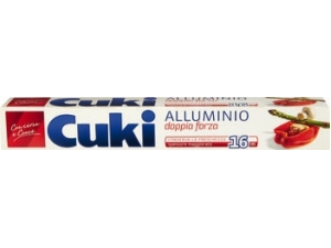 Cuki  rotolo alluminio mt 16