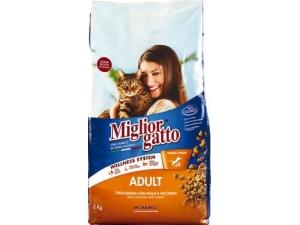 Miglior gatto  croccantini vari gusti  kg 2
