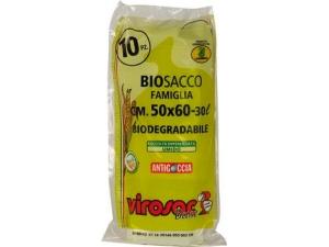 Virosac sacchetti biodegradabili cm 50 x 60 pz 10