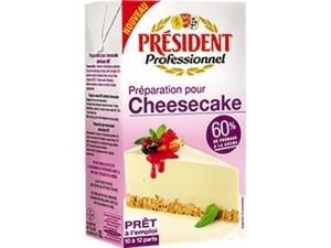 President professionnel  Preparato per cheesecake lt 1