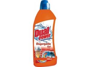Dual power  disgorgante gel  lt 1