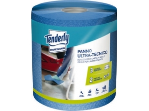 Tenderly rotolo panno ultra  tecnico blu 250 strappi