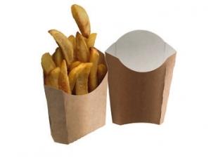 Leone street food box fritti cm 13 x 13 X 5,5 pz 100