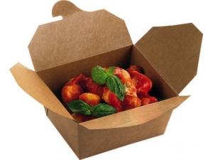 Leone street food scatola take away chiusa cm 21 x 16 x 9 pz 40