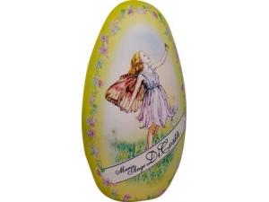 Di costa uovo di latta con ovetti di cioccolato al latte gr 150