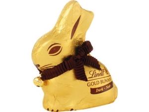 LINDT gold bunny  • latte • fondente  gr 100