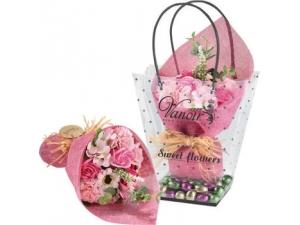Vanoir  shopper sweet flowers  ovetti di cioccolato  al latte gr 300